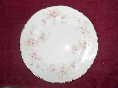 """WS George 9"""" Lunch Plate 296a Pink Flowers Lido"""