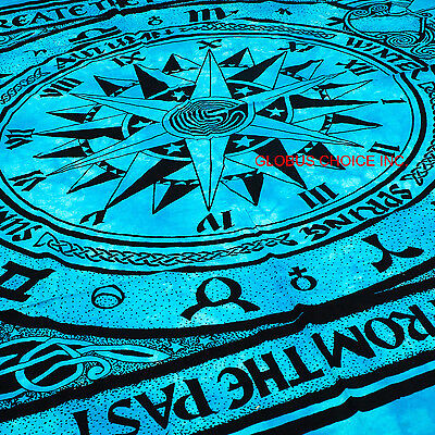 Indian Hippie Mandala Tapestry Cycle of The Ages Home Decor Wall Hanging art KKL