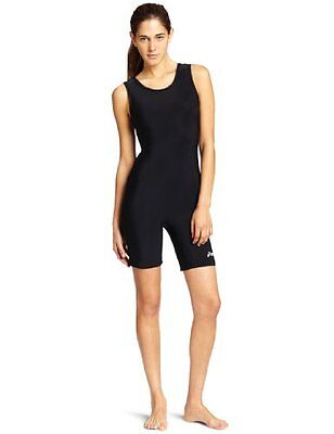 ASICS Womens Solid Modified Wrestling Singlet, Black, Small