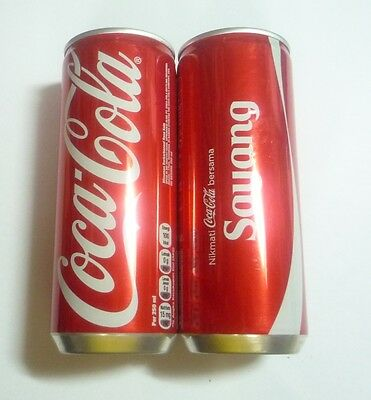 COCA COLA COKE can from INDONESIA tall 250ml Share With SAYANG LOVE 2015
