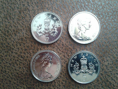 Proof 5p Coins - Choose the Year - Five Pence