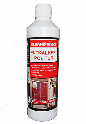 500 ml Glas Politur Glass Polish Entkalker Reinigungspolitur Paste Bad Dusche