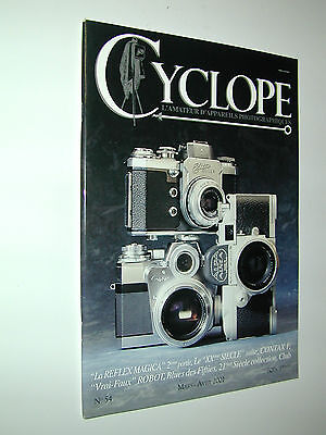 revue CYCLOPE n°54 2001 Contax F photo photographie