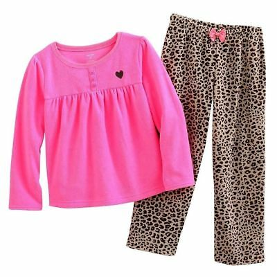 efbad32a77cd CARTER S BABY TODDLER Girl 2-Pc Pajama Set Red Dogs Cotton top ...