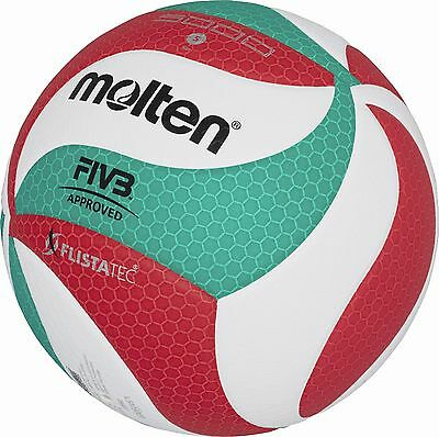 10x Molten V5M5000 Volleyball Wettspielball DVV1 FIVB synth. Leder Volley Ball