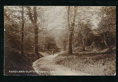 Gloucestershire Glos CLIFTON Down Fairyland 1913 RP PPC