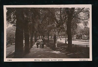 Gloucestershire Glos CLIFTON Downs Promenade 1907 RP PPC