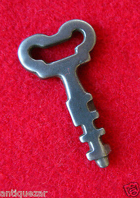 Scandinavian Padlock Antique Old Skeleton Key - More GENUINE Vintage Keys Here