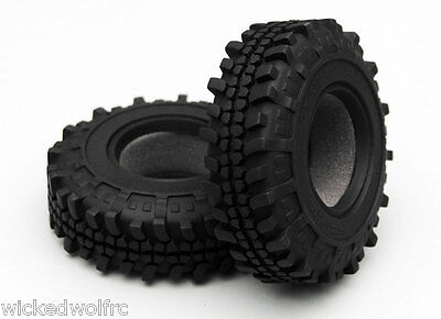 Rc4Wd Trail Buster Scale 1.9 Tires Z-T0098 Axial Tamiya Gmade Redcat Venom Rc