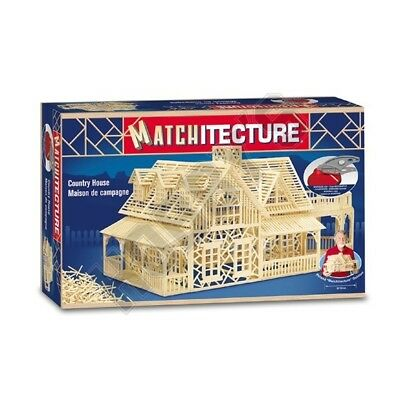 Matchitecture Country House Premium Matchstick Kit MT6623