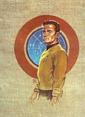 Kelly Freas Classic Star Trek Crew Poster/Print Portfolio 1976 Set of 7 UNUSED