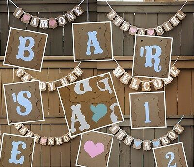 Personalized A-Z 0-9 Kraft Cardboard Bunting Banner for Wedding Party Decoration