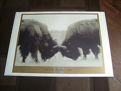 U2 The Best Of 1990/2000 Lithograph Mint