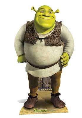 Shrek Dreamworks Ogre Mini Cardboard Cutout/standee -  Fun Size For Parties