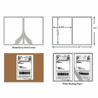 Rounded Corner 200-30000 Thermal Transfer Address Mailing Labels For USPS Amazon