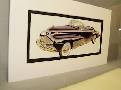 1938 Buick y Job Artist Auto Museum  Full color Illustrated