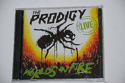 Moon UKRAINE -  the PRODIGY Live - Worlds on Fire  CD+DVD  Ukr  UKRAINIAN press