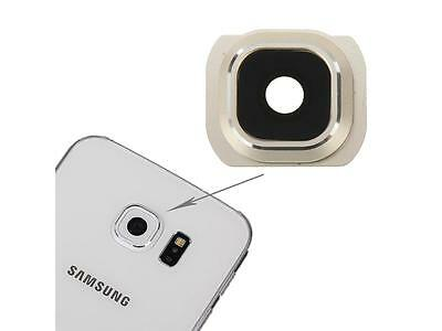 Samsung Galaxy S6 Edge G925 Camera Lens Cover Frame Replacement Spare Part Gold