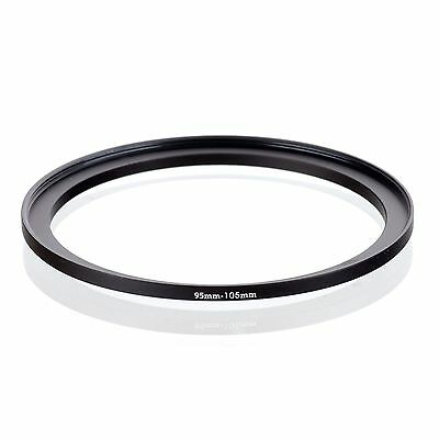 RISE(UK) 95mm-105mm 95-105 mm 95 to 105 Step Up Ring Filter Adapter black