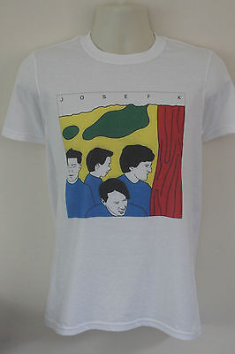 Josef k t-shirt post punk c86 postcard records raincoats bauhaus joy division