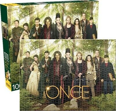 Once Upon A Time TV Series Green Forest Cast 1000 Piece Jigsaw Puzzle NEW SEALED