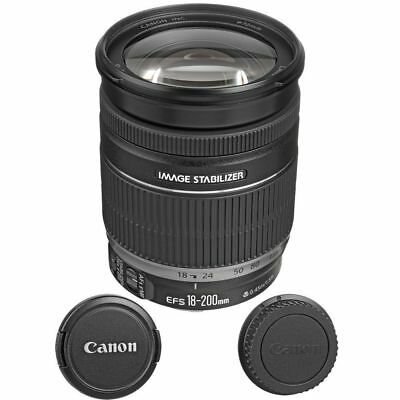 Canon EF-S 18-200mm f/3.5-5.6 IS Lens  for Canon Digital SLR Camera Bodies - NEW