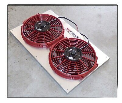 FFD FAN SYSTEM FOR CHEVY S10 S 10 ELECTRIC COOLING FAN KIT MORE MPG HP 2.8