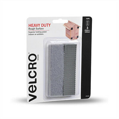 VELCRO® Brand Heavy Duty Adhesive Tabs Ideal for Mounting Acoustic Foam Panels
