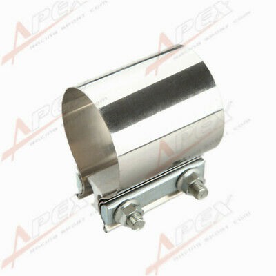 """3.5"""" Stainless steel 3 1/2"""" inch Exhaust Flat Band Clamp  AU"""