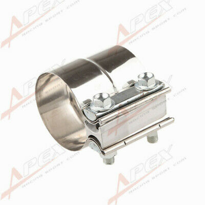 "2""(51MM) Stainless Steel Torctite Exhaust Band Clamp Step Clamps Lap Join AU"