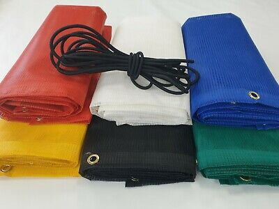 Skip Net Covers heavy duty Complete with Free Bungee