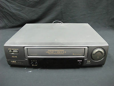NEC VNG-202 VHS HQ LongPlay VCR Video Cassette Recorder Tested Working no Remote