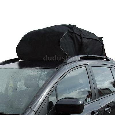 Car Roof Top Bag Rack Cargo Carrier Luggage Travel Touring Waterproof 72P5