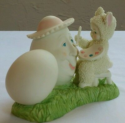 """Department 56 Snowbunnies """"Put On A Happy Face"""" 2007 Easter *A1"""