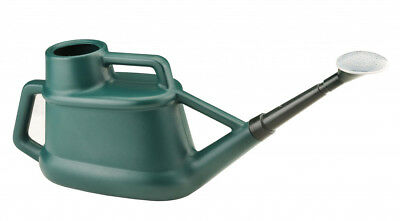 Long Reach Watering Can With Rose - 7 Litre - Green