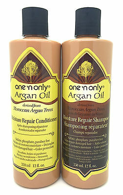 One'n Only Moroccan Argan Oil Moisture Repair Shampoo & Conditioner Pair