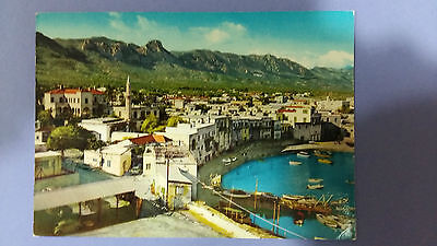 Cyprus postcard: General view of Kyrenia, unposted.
