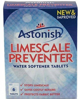 Astonish LIMESCALE PREVENTER Water Softener Tablets Use in Washing Machine 0035