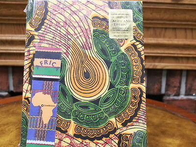 Africa Sketchbook. Authentic African fabric with Free Bookmark. Antioch