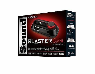 CREATIVE Sound Blaster OMNI Surround 5.1 USB Digital Optical Out SB1560