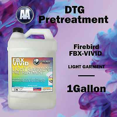 DTG Pretreatment non-staining FIREBIRD for Light FBX-VIVID DTG Pretreat 1 Gallon