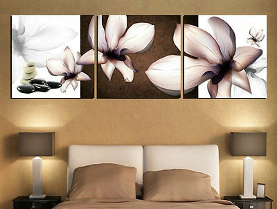 Home Decor Canvas Modern Wall HD Prints flowers painting Art (No stretch) h101