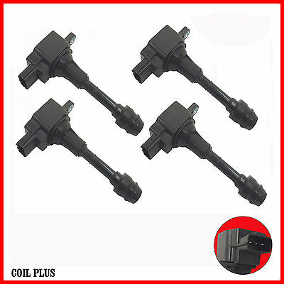 Set of 4 Brand New Ignition Coil for Nissan X-Trail T30 2.5L XTrail
