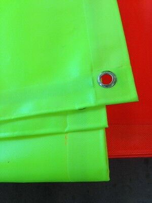 Tarpaulin Sheeting High Visibility