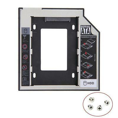 HOT SATAII HDD SSD Hard Drive Caddy pour 12,7 mm Universal CD/DVD-ROM Optique ED