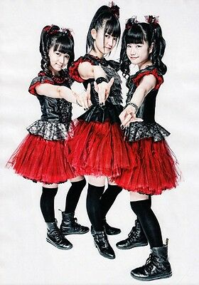 BABYMETAL Road of Resistance PHOTO Print POSTER Gimme Chocolate!! Ijime, Dame 05
