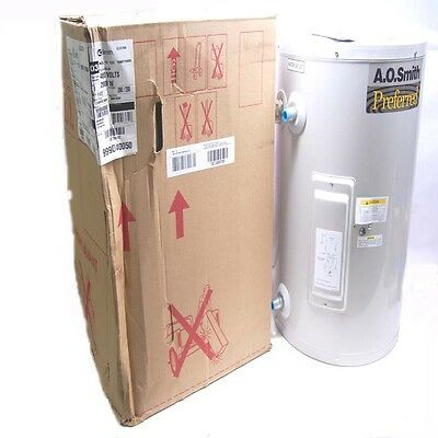 NEW A.O. Smith DEL-15 102 Light Duty Commercial Electric Tank Water Heater 480V