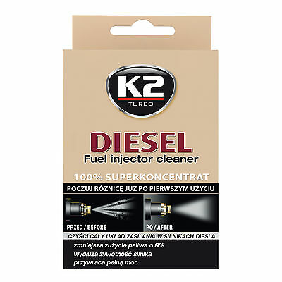50ml Diesel Fuel Injector Cleaner Regeneration Protection Performance Restore K2