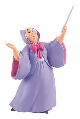 Cinderella Fairy Godmother Figurine - Disney Bullyland Toy Figure Cake Topper