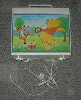 Sears  Winnie The Pooh And Tigger Too Record Player  C. 1970's  Walt Disney